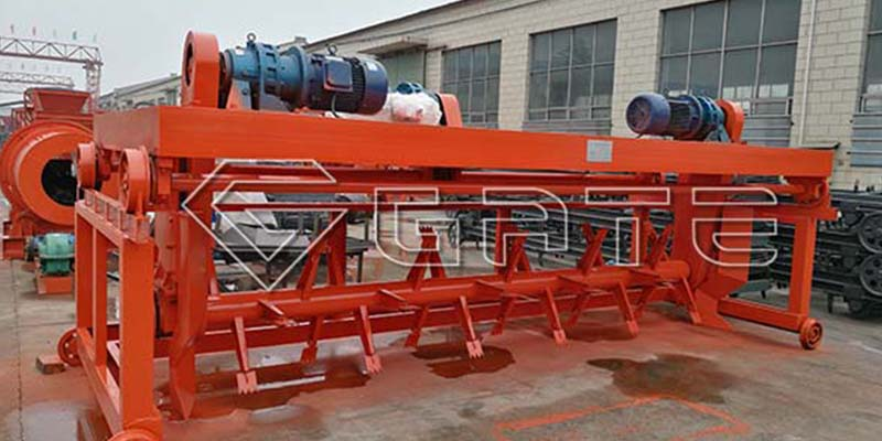 windrow compost turner machine for fertilizer