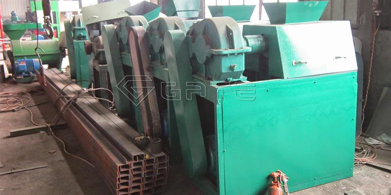 Double Roller Organic Fertilizer Granulator Machine
