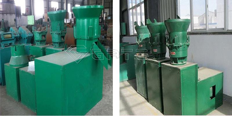 Flat Die Organic Fertilizer Granulator Machine