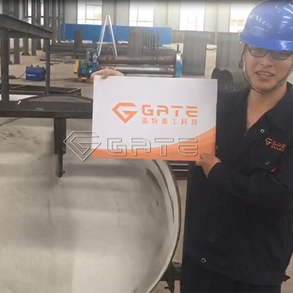 GATE fertilizer disc granulator for sale