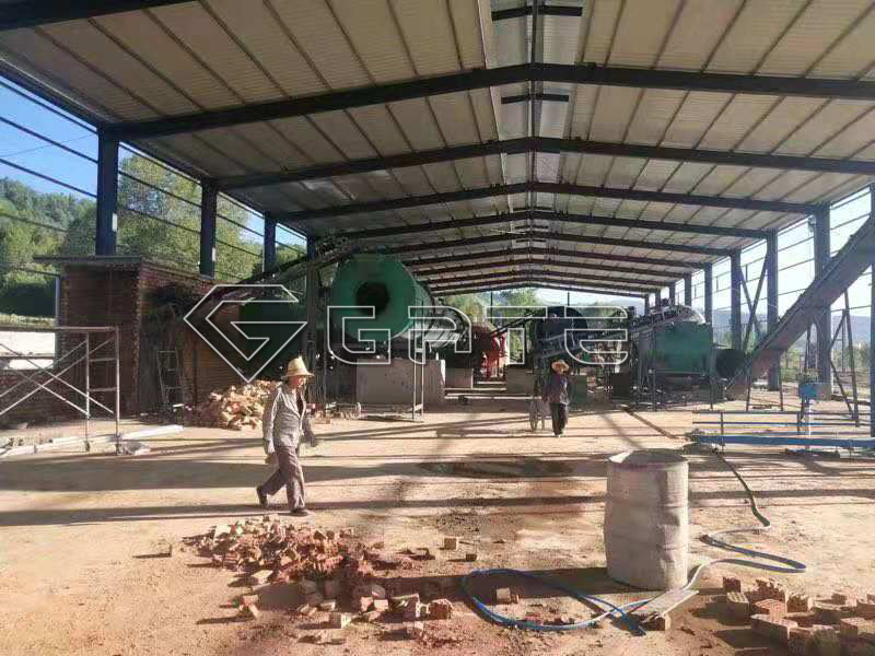 GATE small chicken manure organic fertilizer production lines