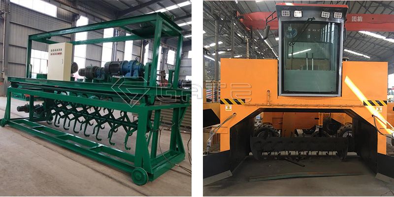 What is the difference between Groove Type Compost Turner and Crawler Type Compost Turner?