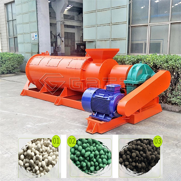 Organic fertilizer production granulator equipment Manufacturer