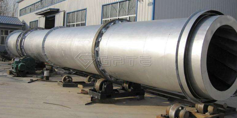 Rotary cooler in Rotary dryer in organic fertilizer production lines