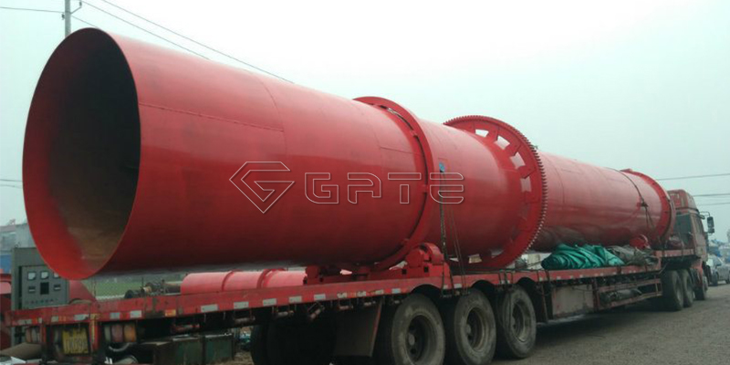 Rotary dryer in organic fertilizer production lines