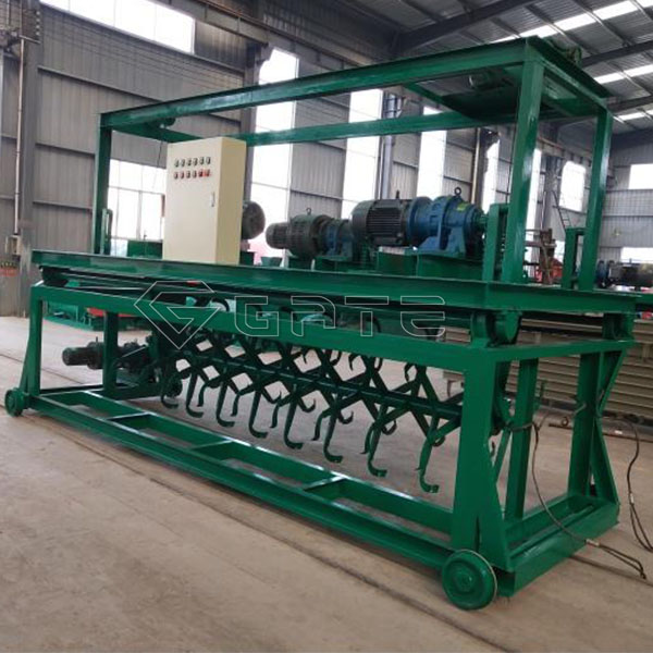 The characteristics of the Groove Type Compost Turner