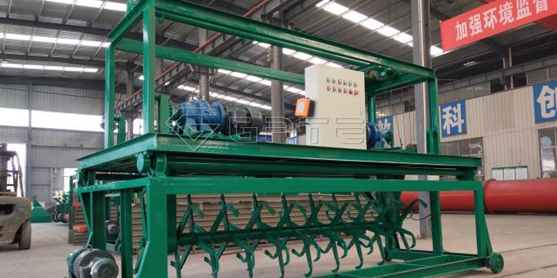characteristics of the Groove Type Compost Turner