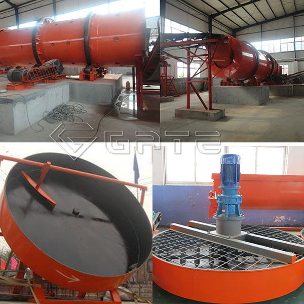 What is the way to ensure that the organic fertilizer machines are working properly?