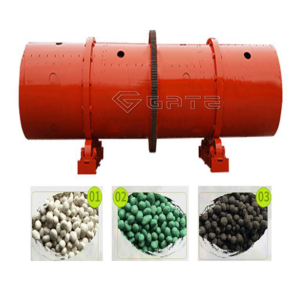 GATE Rotary granulator fertilizer machine supplier