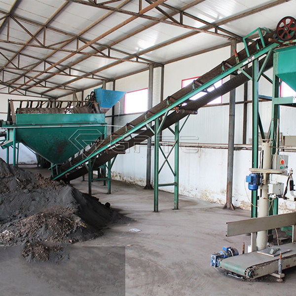 What conditions should be met to build a small organic fertilizer production line?