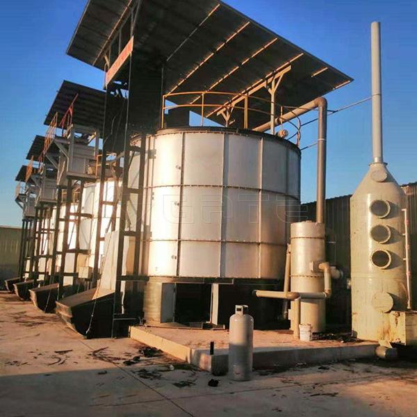 Organic fertilizer fermentation Tank