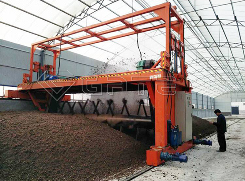 Advantages of Groove type organic fertilizer compost turner machine