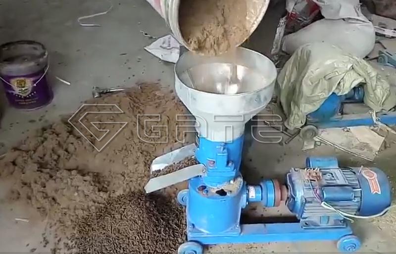 Chicken manure fertilizer pellet granulator machine manufacturer