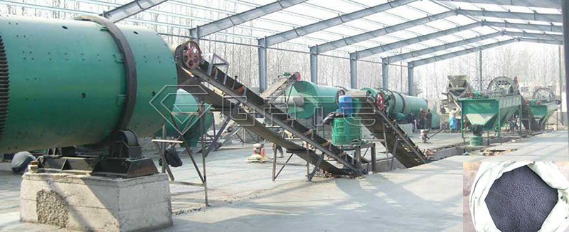 organic fertilizer production line cost