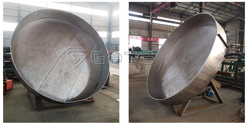 Disc type Granulator for organic fertilizer production lines2