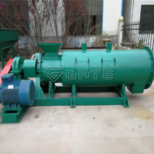 Brief introduction to the structure of the organic fertilizer stirring granulator