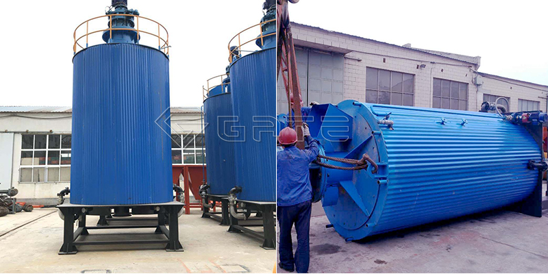 How does the GATE Organic fertilizer Fermentation tank work