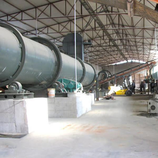 High Grade Dry Type NPK Fertilizer Plant Line in North American Area