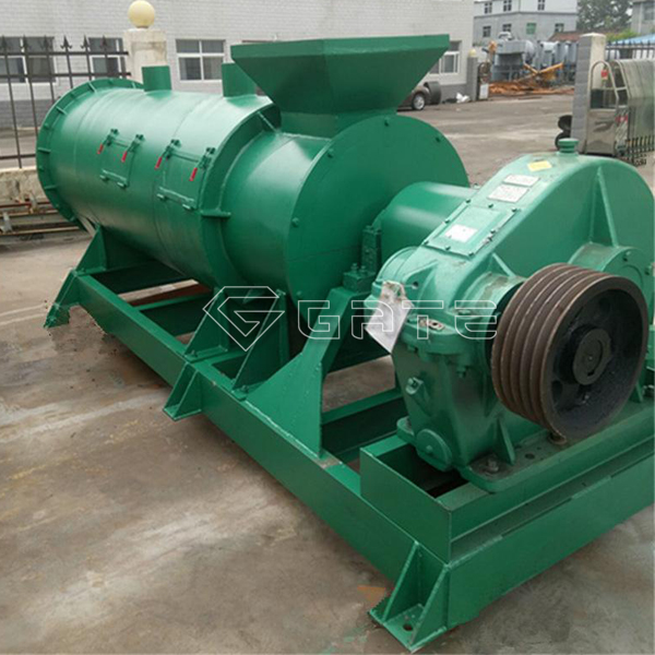 What are the characteristics of the fertilizer stirrer granulator?