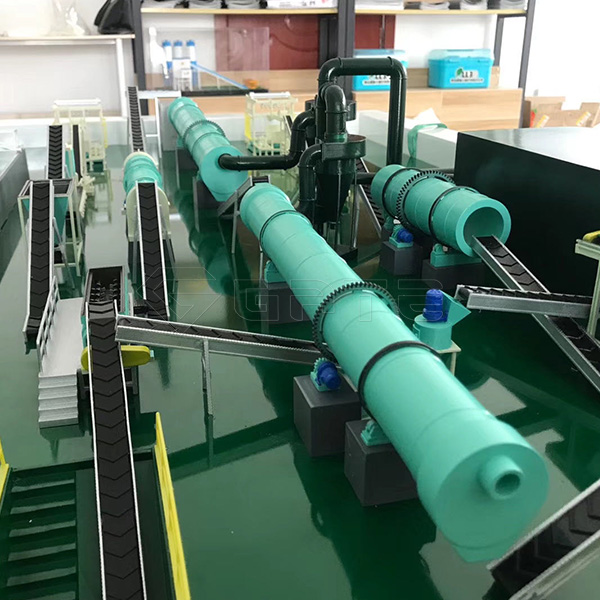 What are the characteristics of organic fertilizer production line?
