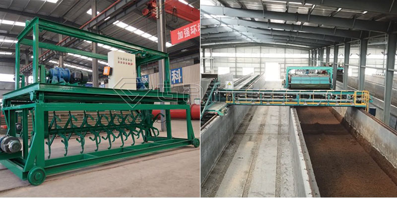Groove type windrow compost turner machine for fertilizer Manufacturer10