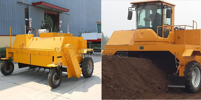 Industrial fertilizer compost turner2