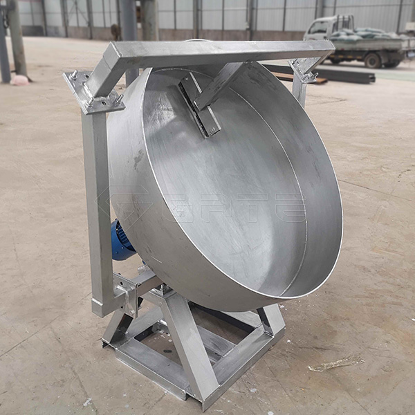 How to use the fertilizer disc granulator safely?