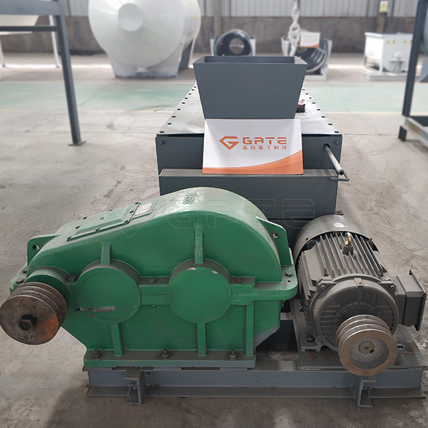 The structural characteristics of the Gate double-shaft mixer