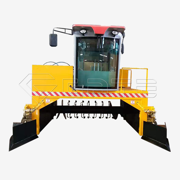 Bio Organic Fertilizer Crawler Type Compost Turner