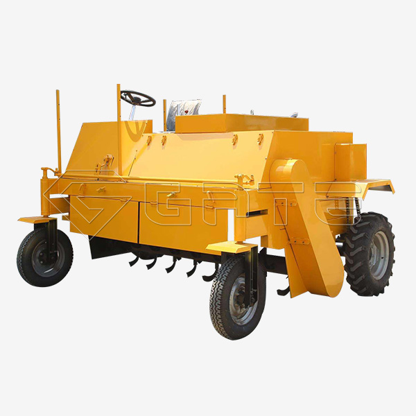 Wheel Type Tractor Compost Turner